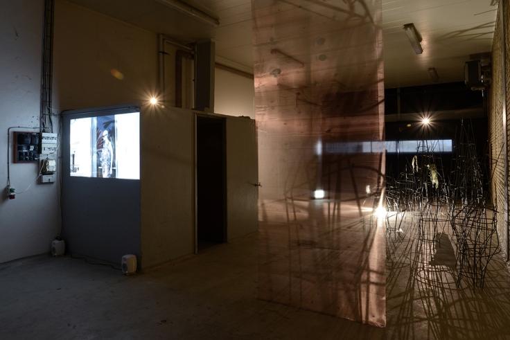 1.├ÿjet (installation view). Foto af Heidi Hove