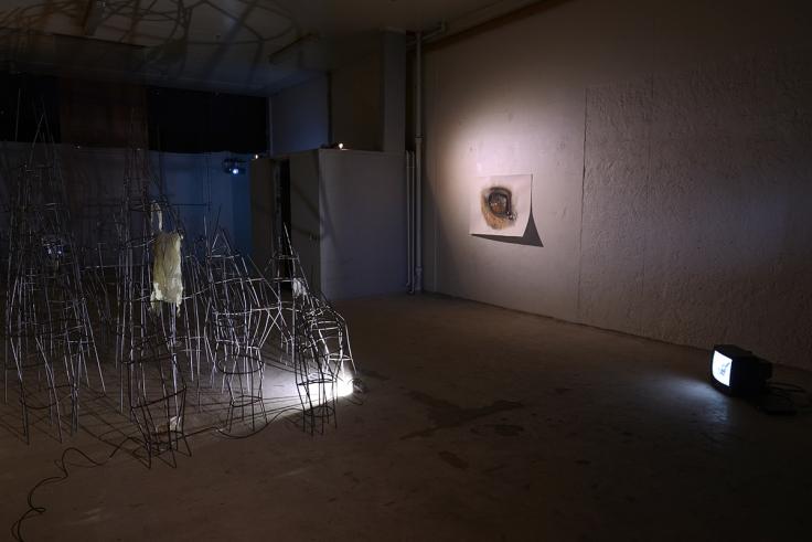 2.├ÿjet (installation view). Foto af Heidi Hove